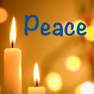 Advent means PEACE